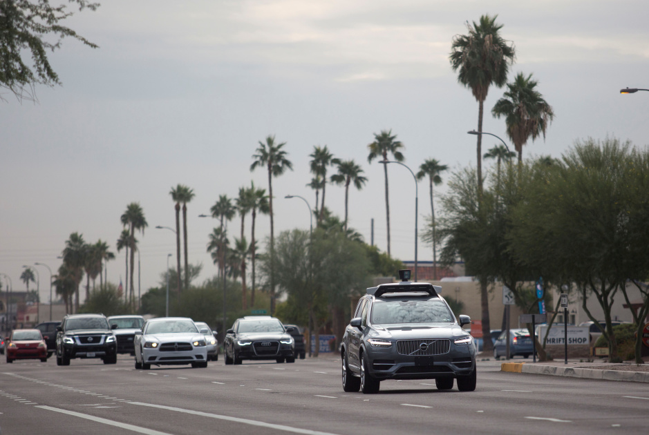 Uber backup driver charged with negligent homicide in self-driving accident