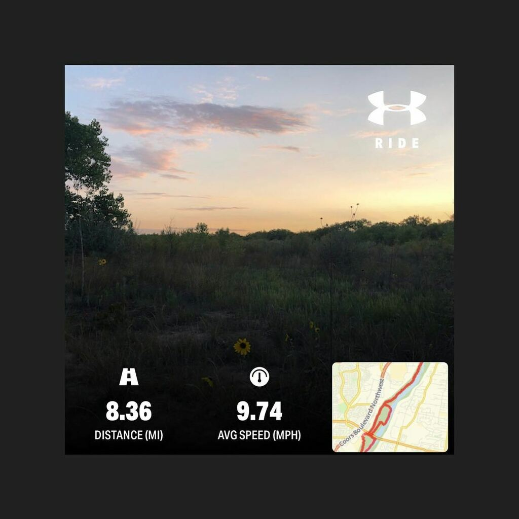 Fast and fun ride this evening. #singletrack #exercise #fitness #riogrande #bosque #mountainbike #garyfisher #29er https://t.co/Sq9IRkwSFO https://t.co/QYW3zVib0v