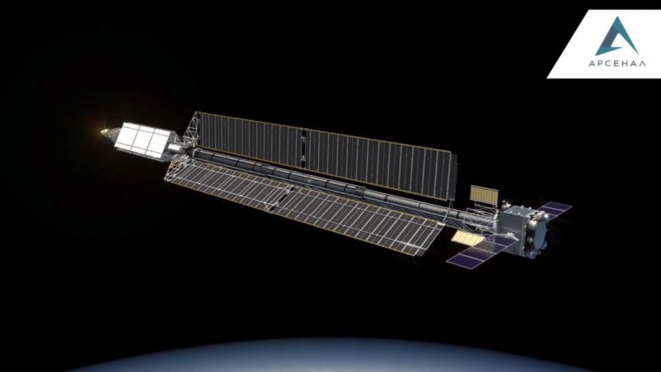 "[Russie] Projet de complexe spatial ""Nuklon"" EiA_Z3vXkAE3gP-?format=jpg&name=medium"