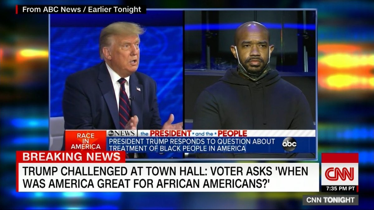 The man who asked Trump when was America great for African Americans will join me in moments on @cnntonight https://t.co/f4OkRFrVLb