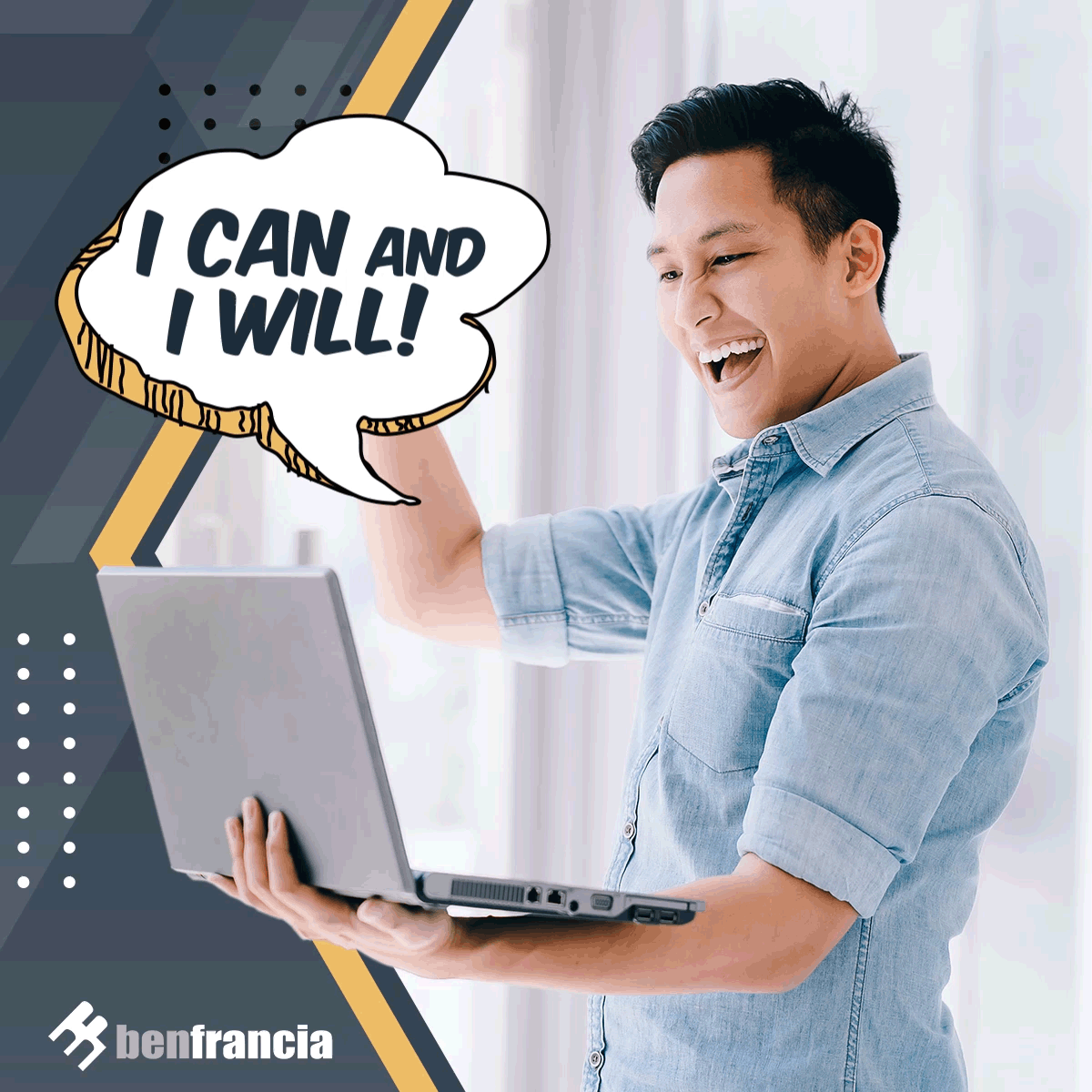 The first step to achieving your goals is by believing that you can do it.   Learn more: https://t.co/q2p8AZCELj  #MakeItHappen #DigitalMarketing #DigitalMarketingTips #DigitalMarketingPH https://t.co/7d6rJqRmJT
