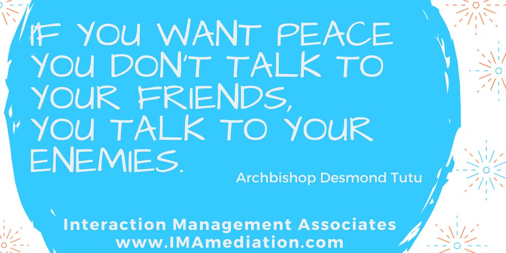 You may be the solution to someone else's conflict today.  #respectfullydisagree #respectfuldisagreement #conflictengagement #conflictnavigation #confidentconflictengagement #negotiation #negotiate #negotiator #winwin #winwinwin #aimforwinwin https://t.co/IIKiI0rkLV
