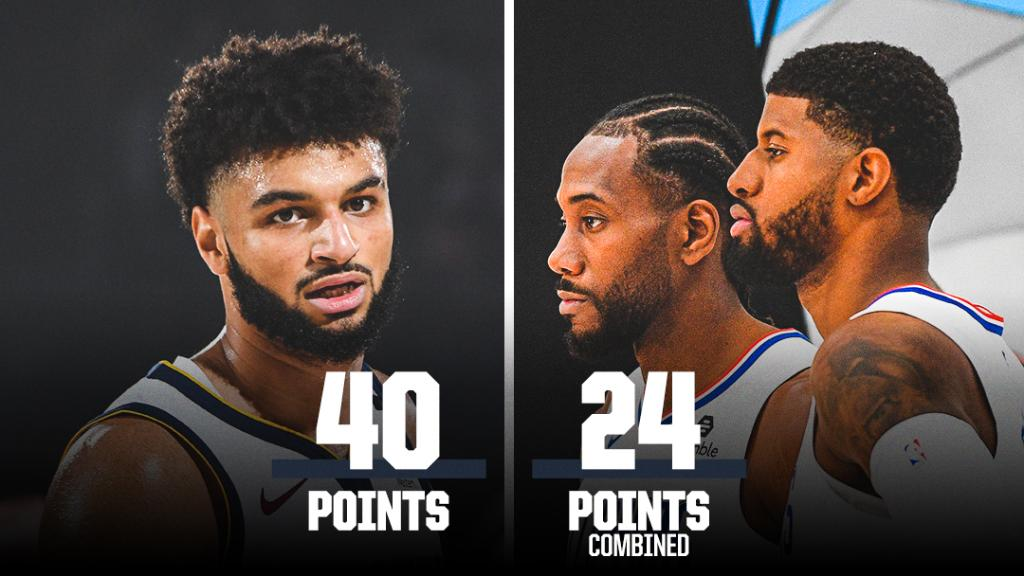 Jamal Murray outscored both Kawhi and PG in Game 7.