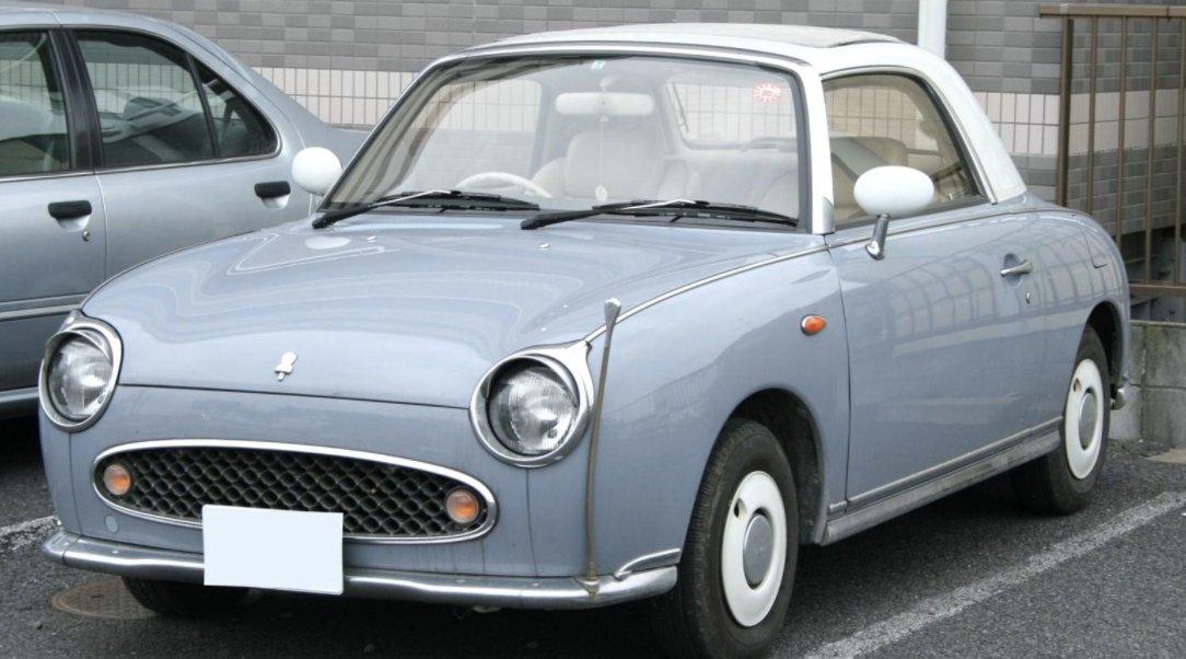 test ツイッターメディア - 老夫婦2人だけで住んでますが、車4台(含む不動車)、バイク3台あります。今日新たにこんな車を買ってしまいました。またしても日本から。日産フィガロ めちゃ可愛! 欲しかったあ~。これは一生乗る予定。#フィガロ https://t.co/v24SJIw2oo