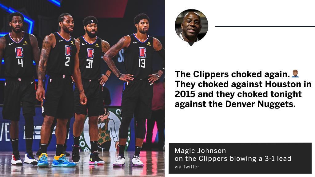 快艇無奈出局,魔術師的點評殺人誅心:湖人永遠是洛杉磯的統治者!-黑特籃球-NBA新聞影音圖片分享社區