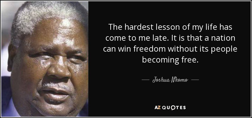 @hwendec @nelsonchamisa What good is an election in #Zimbabwe 🇿🇼 if the votes can still be reversed? What happens if Zimbabweans vote for MDC-A in by-elections and the MPs are recalled again? The election route is closed! We cant continue doing the same thing, and expect a different result.