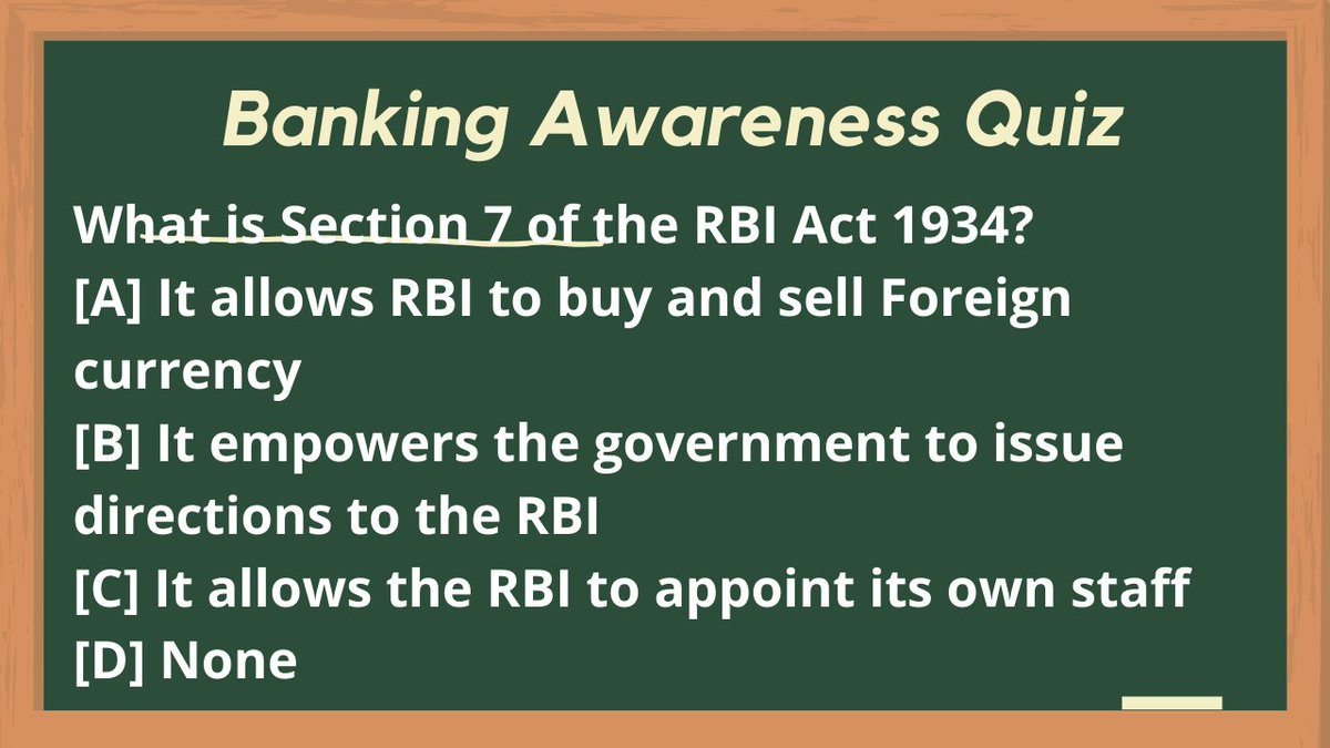 #BankingAwareness Comment with correct answer    Tag your friends and challenge them.  #KashmirJobs #JKSSB #JKPSC #KashmiriYouth #SSC #Kashmir   #Maths  #Shopian #Pulwama #Baramulla #Srinagar #Kulgam #Kupwara #Anantnag #Ganderbal #Maths #Quiz #JKBank #PO #BankingAssociate https://t.co/q4pNjxZBqp