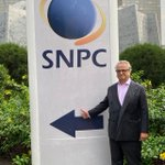 Image for the Tweet beginning: Very productive meeting with SNPC