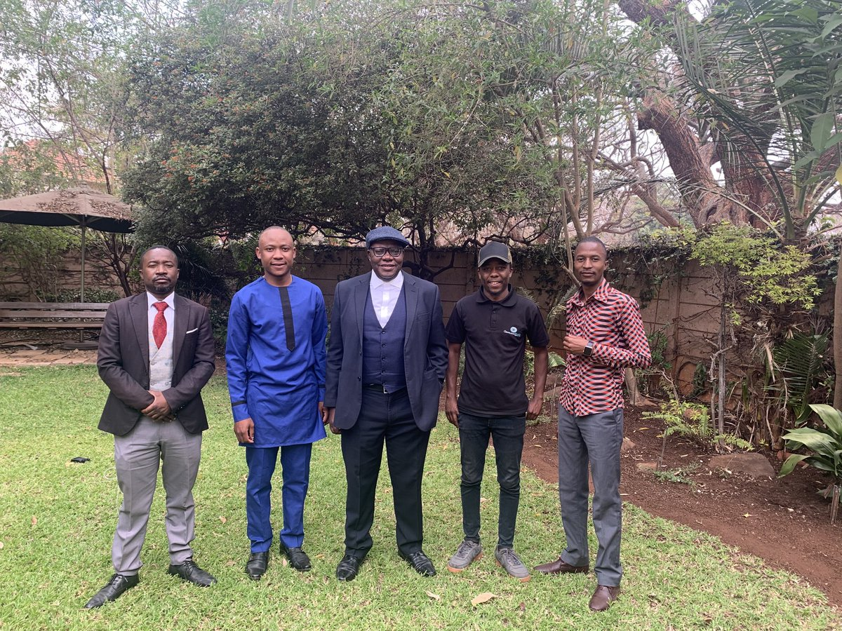 After his week in unlawful detention it was a delight to listen to @Zinasuzim President @ngadziore . The fight against impunity & regime enablers such as Impala Car Hire & Innscor must continue . We are proud of you Takudzwa. With the youth , the country is safe