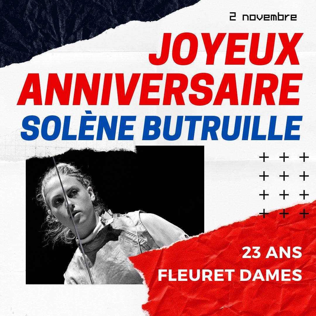 Federation Francaise D Escrime On Twitter Joyeux Anniversaire Solene Butruille