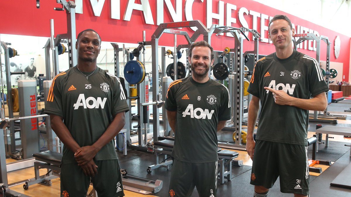 Wednesday workout ✅ #MUFC