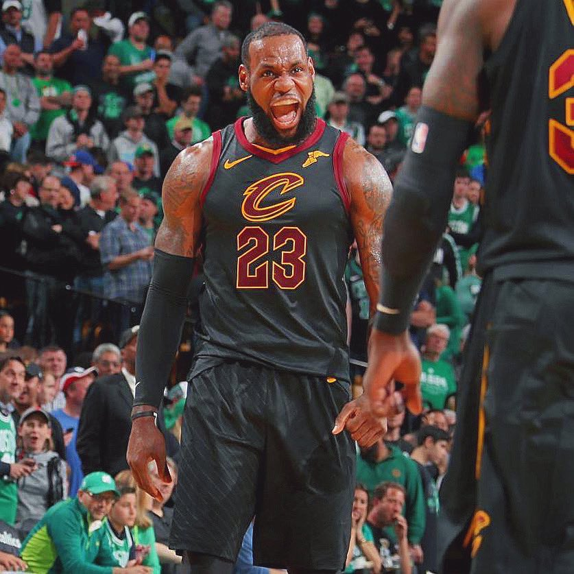 Last time LeBron played a game 7: - 35 points - 15 rebounds - 9 assists - 2 blocks - 50% shooting - And the and-one dagger.