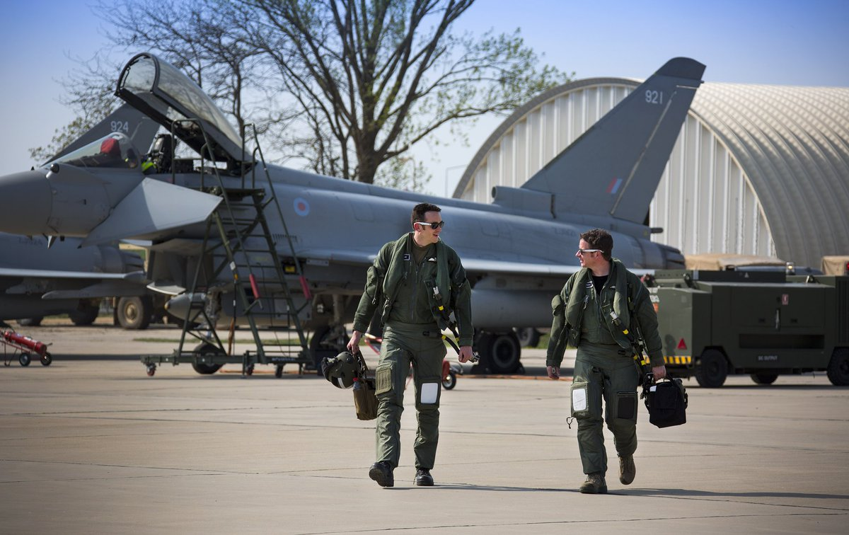 #TeamLossie is on constant readiness in our missions of   ✅ #SecuringTheSkies with the @eurofighter Typhoon ✅ #SecuringTheSeas with @P8A_PoseidonRAF ✅ Deploying on Operations worldwide to deliver air power where it's needed most https://t.co/nSrtANEZLO