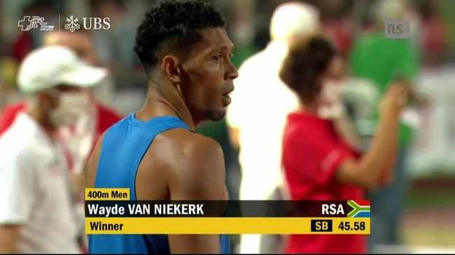 WATCH | WAYDE VAN NIEKERK IS BACK – AND WINNING!   He's back on track - and winning!  Incredible to see @WaydeDreamer doing what he does best.  @AthleticsSA_ @caster800m @bronwynr1 @WorldAthletics @Diamond_League   https://t.co/1JYSxS7Hrm via @MyTwoCentsZA https://t.co/fMBWuQceH6