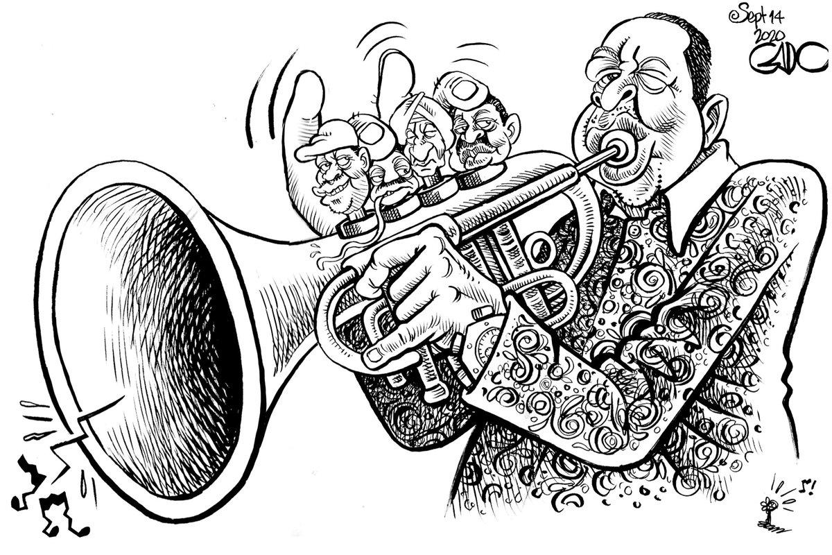 The Trumpeter! https://t.co/qix4D3J1SS
