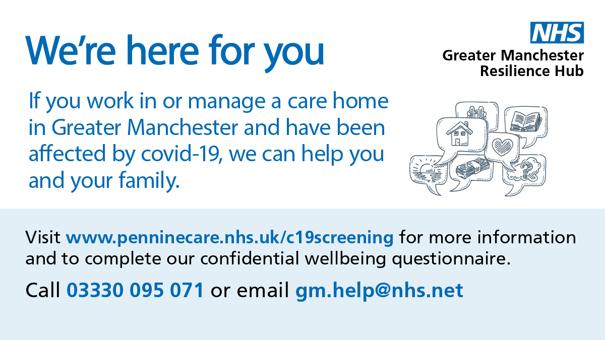 test Twitter Media - Back by popular demand! #GMRH's webinar for Care Home Managers&Owners at 10:30 TODAY just click https://t.co/ULClKzJsYd full of practical advice about supporting staff including help to identify of staff who maybe struggling. All welcome beyond GM @NacasUK @NWADASS @POMakingSpace https://t.co/c33ba4VyhG