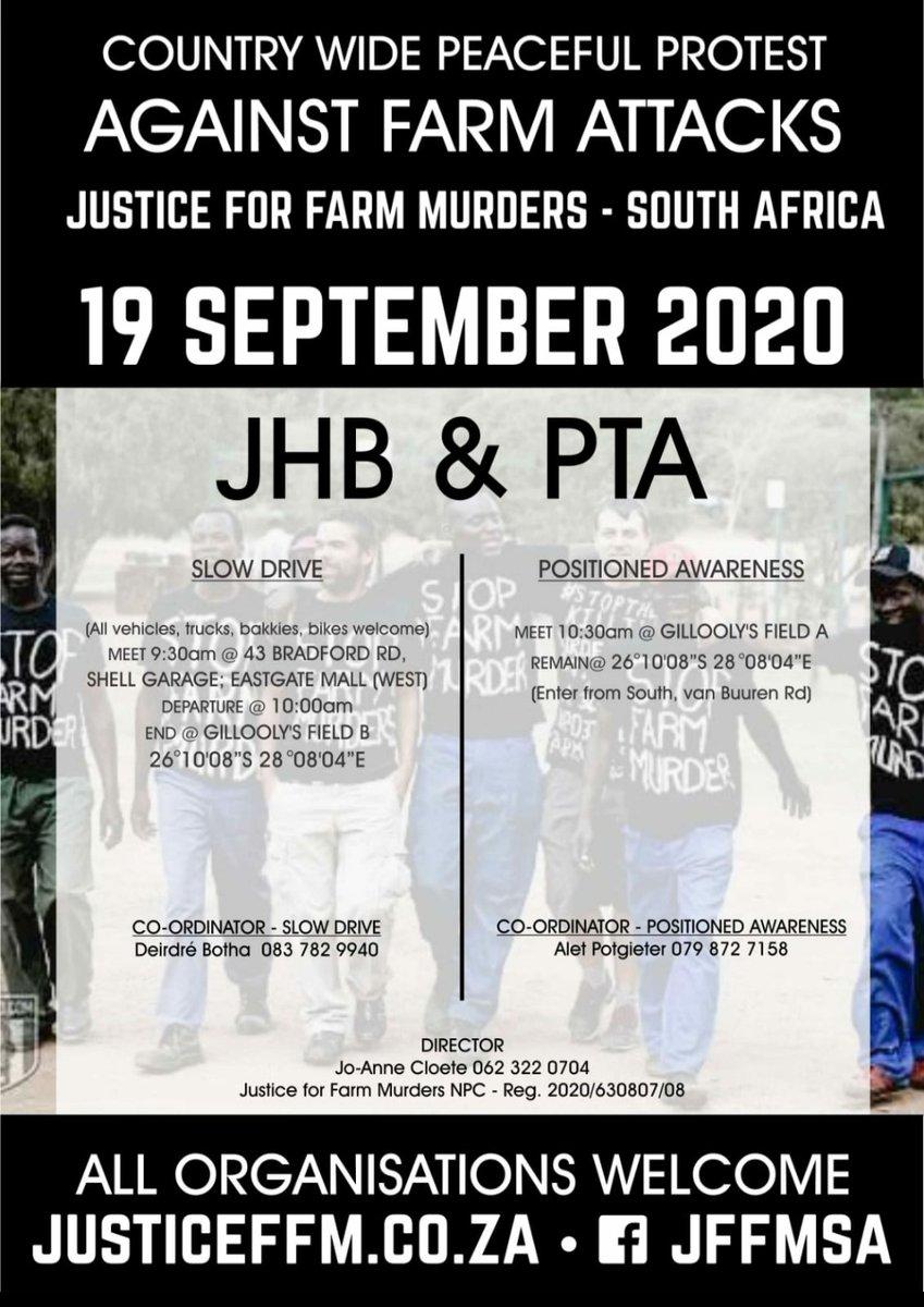 Justice for Farm murders in #SouthAfrica 🇿🇦🇿🇦🇿🇦🇿🇦 #farmMurders https://t.co/Lw3dXX9IaG