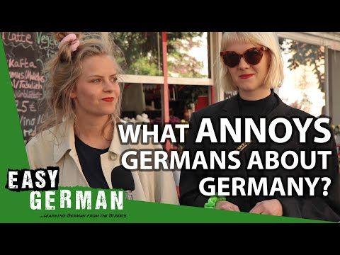 What #Germans find annoying about #Germany | #EasyGerman 353: https://t.co/FkBaYKlkmY #Deutschlernen https://t.co/KWiJdy6mmE