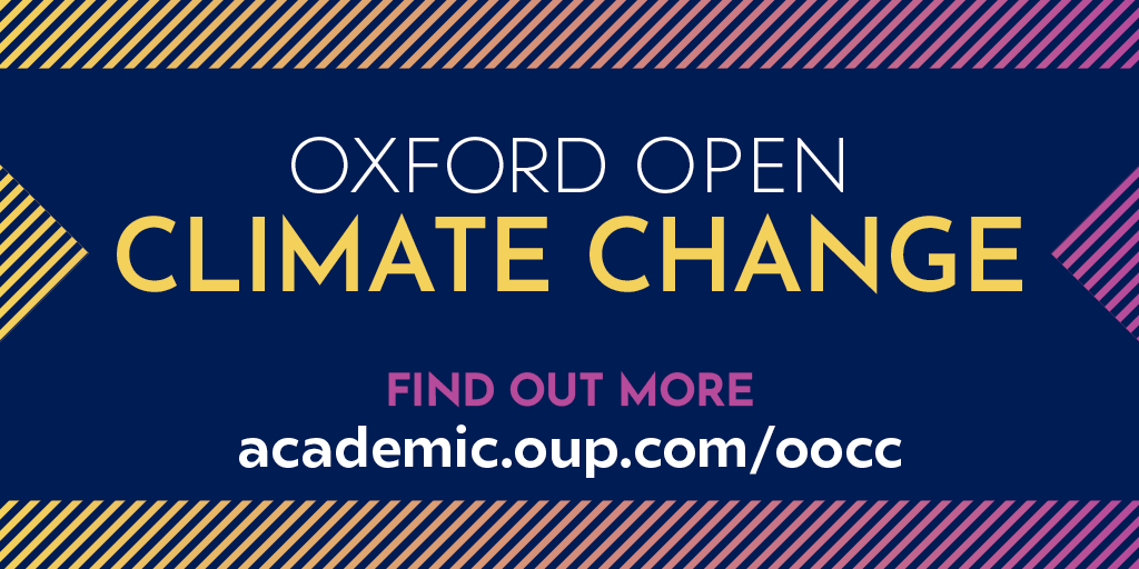 Discover the latest #OpenAccess journal in the Oxford University Press portfolio: Oxford Open Climate Change, led by Editor-in-Chief Professor Eelco J. Rohling. Explore the full journal today. https://t.co/HIOyeWjqTX https://t.co/Aid7C4CsVz
