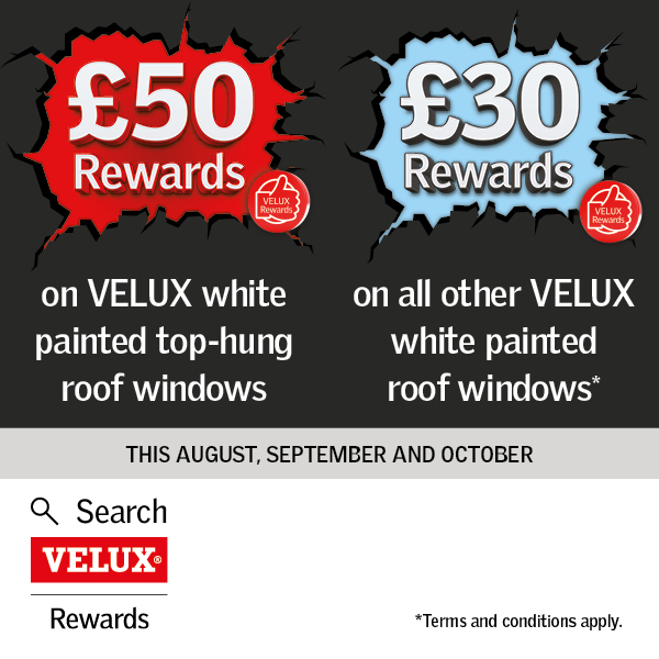 This September and October earn £50 rewards on @VELUX white-painted top-hung roof windows or £30 rewards for all other VELUX white-painted roof windows purchased!  Take a look at our range of Velux here: https://t.co/G6yFXlzNLb  #Windows #Rewards #Velux #Gifts https://t.co/YzsCytdU7b