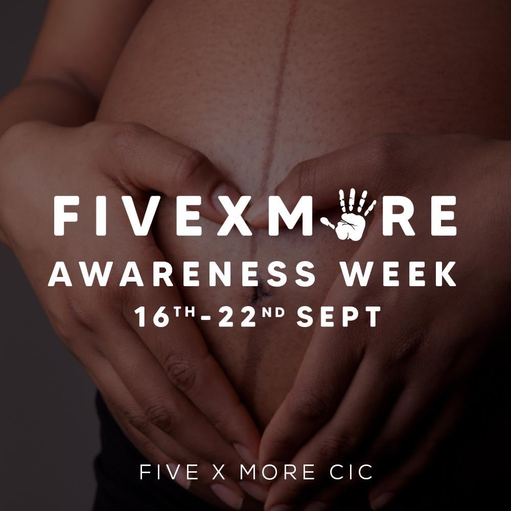 Welcome to the UK's first Black women's maternal health awareness week.  This week is designed to further highlight this statistic. We want to go a step further to uncover the fact that Black women have poorer experiences and maternal outcomes in general. #fivexmoreaw20 https://t.co/5khqt4suD4