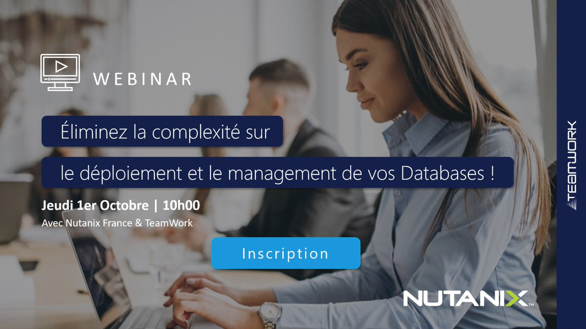 Image for the Tweet beginning: 💻 #Webinar - Éliminez la