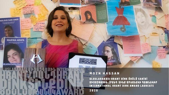 تتشرّف #نظرة للدراسات النسوية بحصول مؤسستها ومديرتها التنفيذية #مزن_حسن #الناشطة #النسوية والمدافعة عن #حقوق الإنسان على جائزة هرانت دينك الدولية لعام 2020.  #المرأة #تعليم #تمكين #النسوية #الجندر https://t.co/abIyGuWFdP https://t.co/cbu0vGxxVR