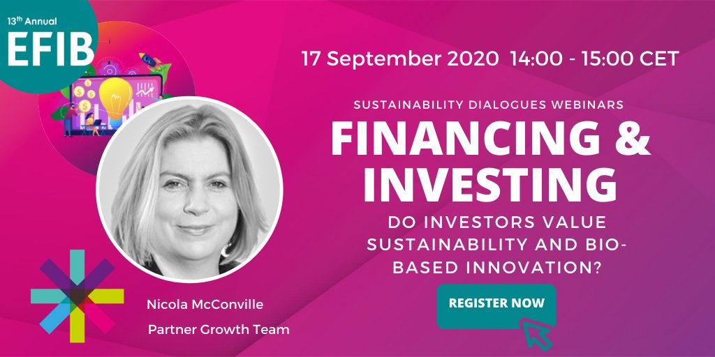test Twitter Media - There's still time to register for our webinar on Financing & Investing! Our third panellist is Nicola McConville @lawyer_nicola of @TaylorVinters!    Join the discussion on #sustainable #financing and the role of #biobased #innovation.   Register now ➡️ https://t.co/CKRtZLUzPZ https://t.co/spy9hU03wj