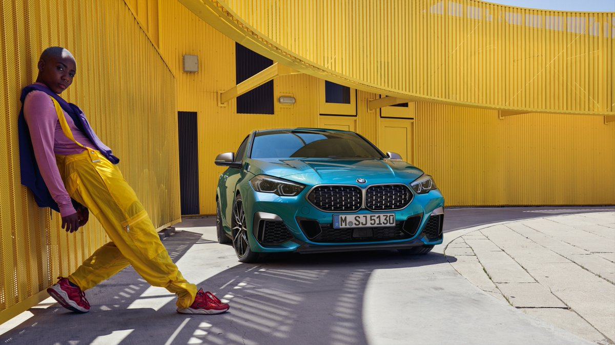 Just #THE2 of us.  The #BMW M235i xDrive Gran Coupé. Fuel consumption (combined): 7.1–6.7 l/100 km. CO₂ emissions (combined): 162–153 g/km. https://t.co/twXzMrWMl3 https://t.co/qaHvAyzbQ5