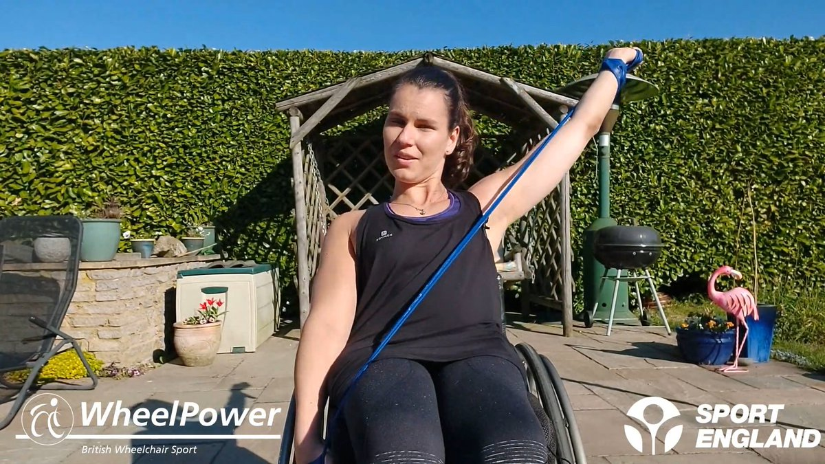Have you tried out the latest #WheelPower workout❔ In this episode Ella takes us through 5 new exercises, ideal for a sunny day in the garden ☀️ Visit our website to enjoy this class, and discover all of our #ExerciseAtHome🏠 resources:  https://t.co/7PLPoNlOZ6 #WednesdayWorkout https://t.co/9VPFkYXgXS