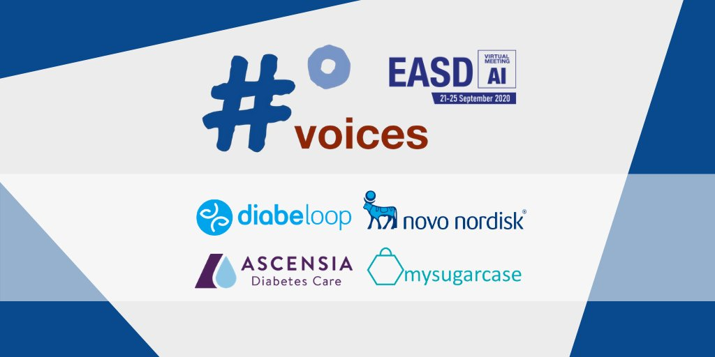 The #dedoc° voices program empowers >50 #diabetes #patient #advocates to attend #EASD2020 next week.   THANK YOU to @Diabeloop @novonordisk @AscensiaGlobal @mysugarcase for making this possible!   Join us for virtual #docday° on Tuesday, 22/09, 12.00 CET:  https://t.co/lo8pNeEKYn https://t.co/K2ZW5aMR7u