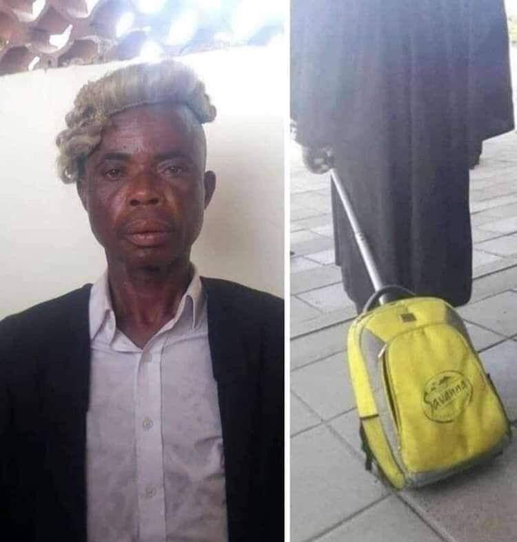 But your worship my client said sorry mos. Kusho i lawyer yase UNISA.