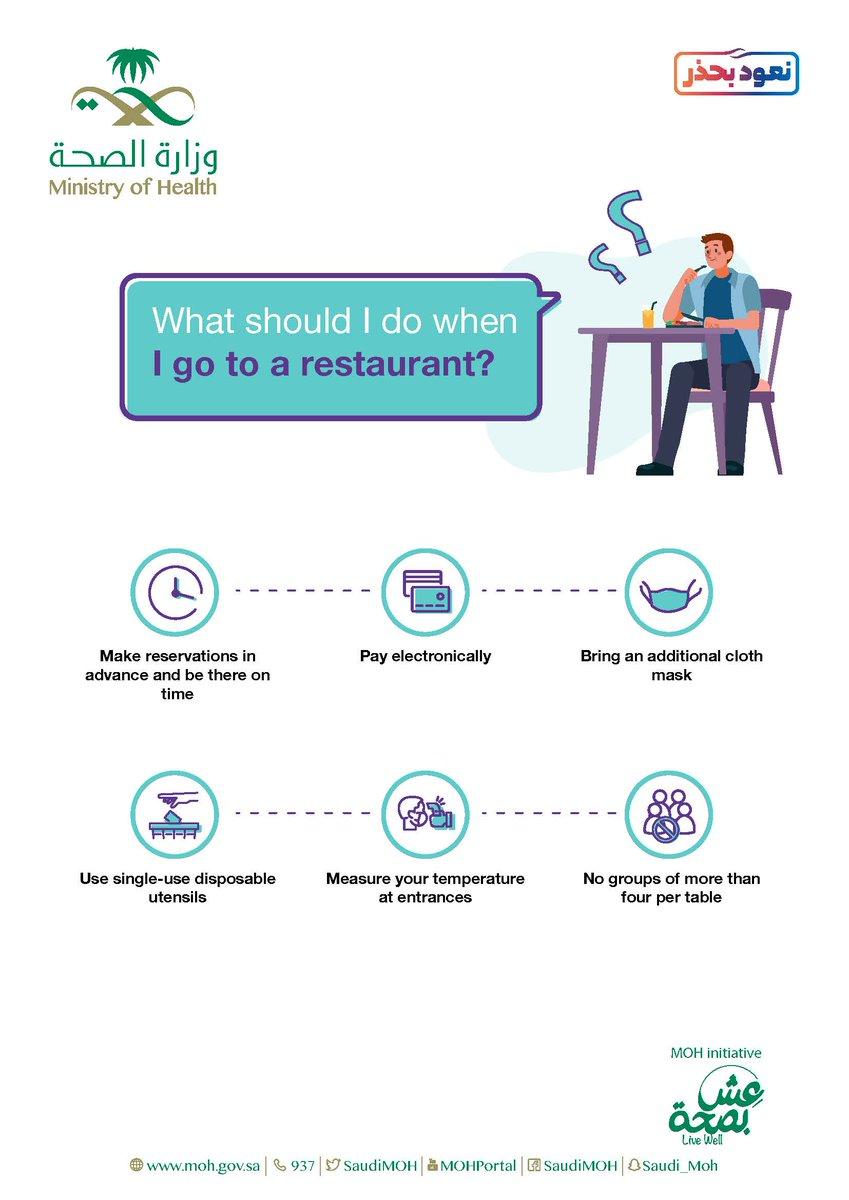 Follow these preventative measures to stay safe while eating out. #ReturnCarefully https://t.co/E9slu1Pldq https://t.co/6AnJJGjHHQ