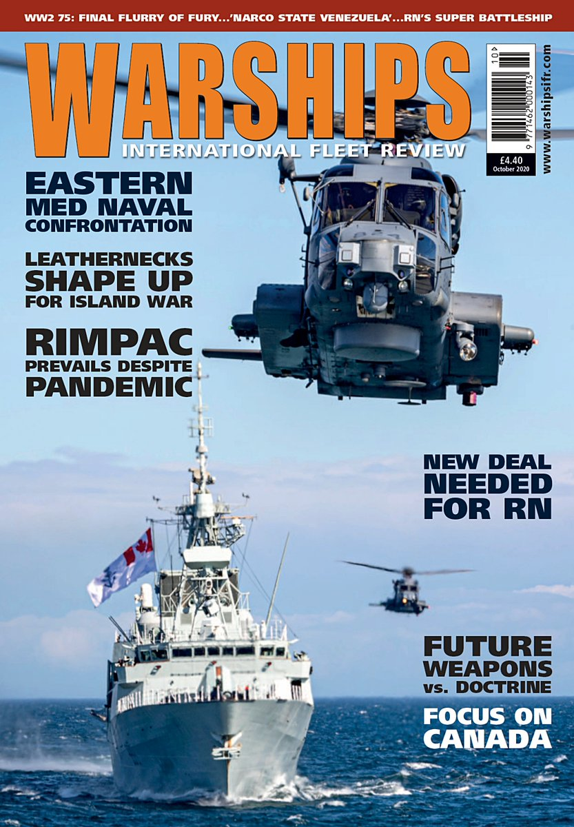 New edition @WarshipsIFR hitting the water & cover features @RoyalCanNavy units on their way to the most recent @RimofthePacific - an image by Dan Bard of the RCN. Reports & pics on that inside + lot more besides. Available as hard copy or digital https://t.co/nzHLhNDjbs #navies https://t.co/x2qM2SiRdG