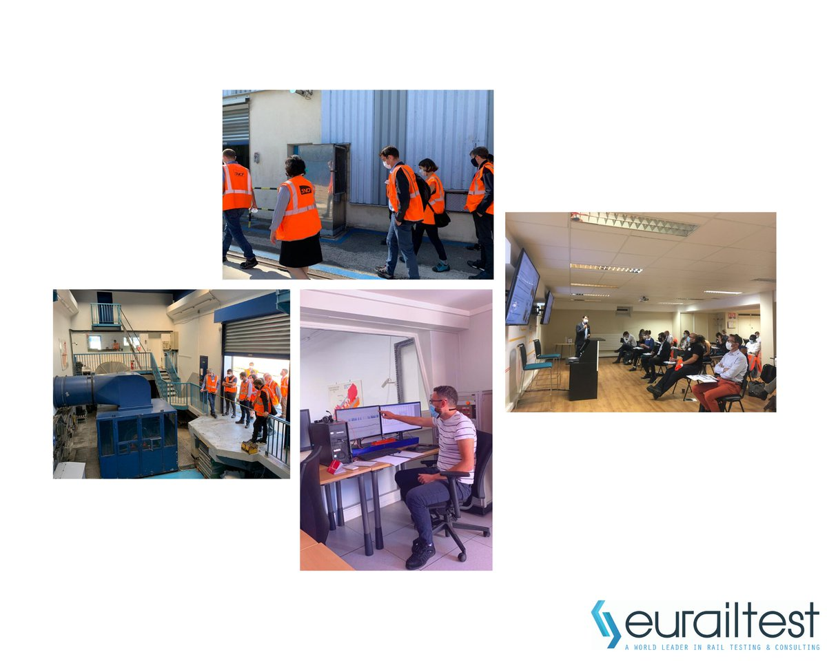 #Technical #Workshop Eurailtest organised a technical workshop dedicated to brake testing and particle emissions measuring.  We would like to thank the participants: @Alstom, COFREN, FLERTEX, @IFPENinnovation, @groupekeolis, Knorr Bremse, @RATPgroup, @alliance_rnm, @SYTRAL_RHONE https://t.co/npAFx76qOl