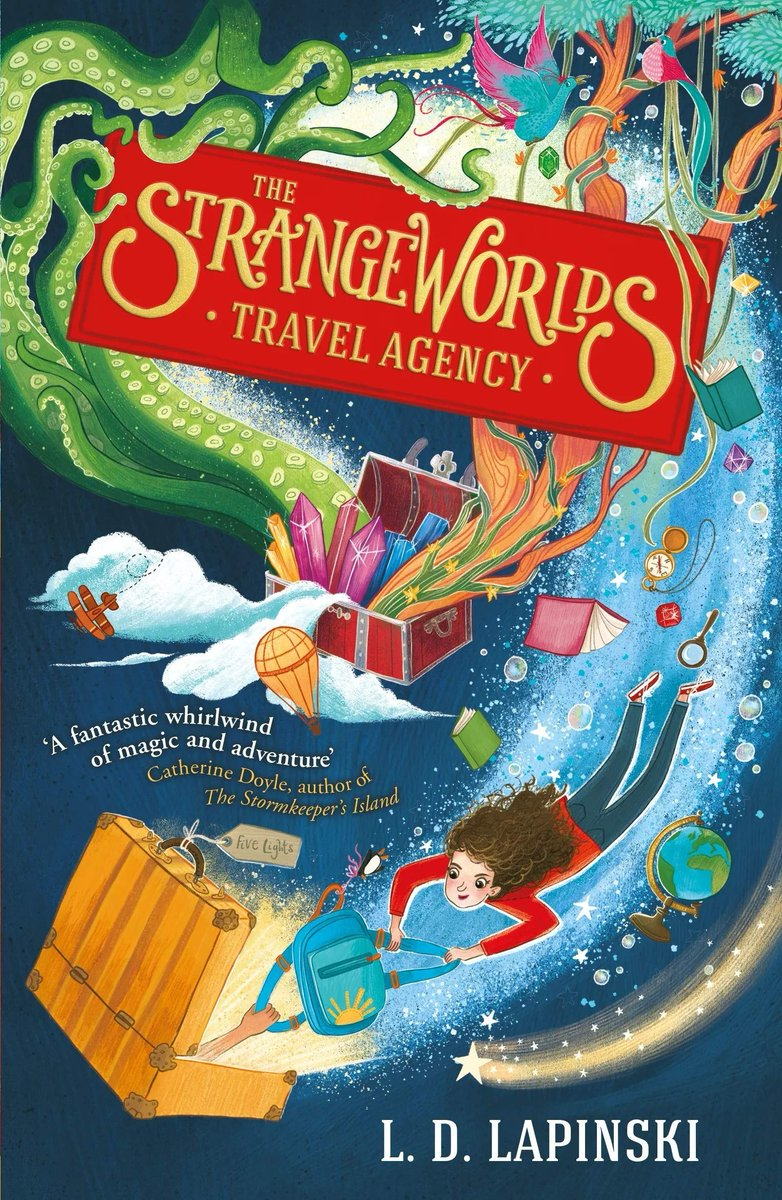 "I'm doing a #giveaway or two of books I ❤️, next up, The Strangeworlds Travel Agency @ldlapinski ""Assured, witty and inventive. This debut has ""future classic"" written all over it."" - The Guardian RT to win, UK only, ends 20.09 https://t.co/wW34lp6iIW"