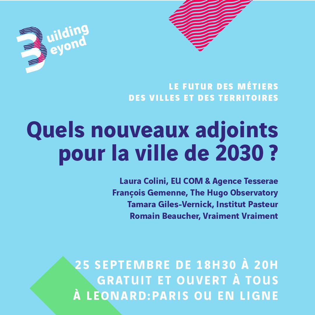 Rejoignez @GilesVernick le 25 septembre 2020 pour discuter la gestion des #pandémies dans la ville de demain!