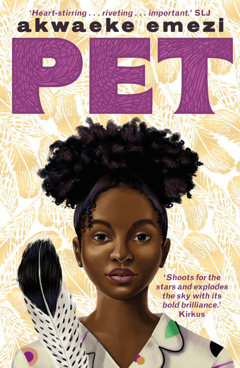 "I'm doing a #giveaway or two of books I❤️, next up, PET by Akwaeke Emezi ""This soaring novel shoots for the stars and explodes the sky with its bold brilliance"" - Kirkus RT to win, UK only, ends 20.09 https://t.co/ADnRWss4hi"