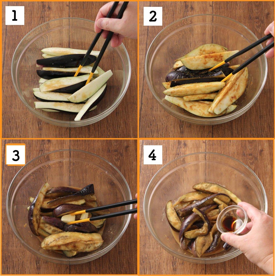 ナス好きにはたまらない?「なす味噌バター丼」は至福の味!