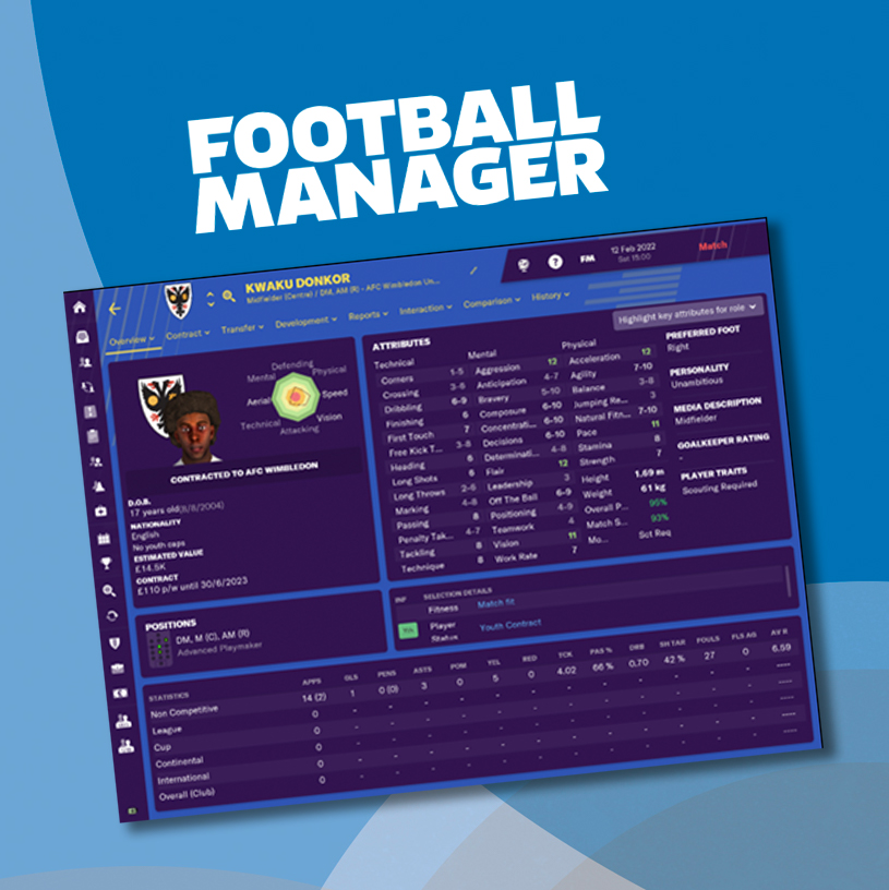 Become a player in @FootballManager 💻  Bid here to become a Newgen and earn the chance to sign yourself in your next save. This is an incredible opportunity with a prize we rarely give away.   Get involved for a great cause 🙌  👤 https://t.co/pwCRnL8AeP https://t.co/6WVDyXYHTK