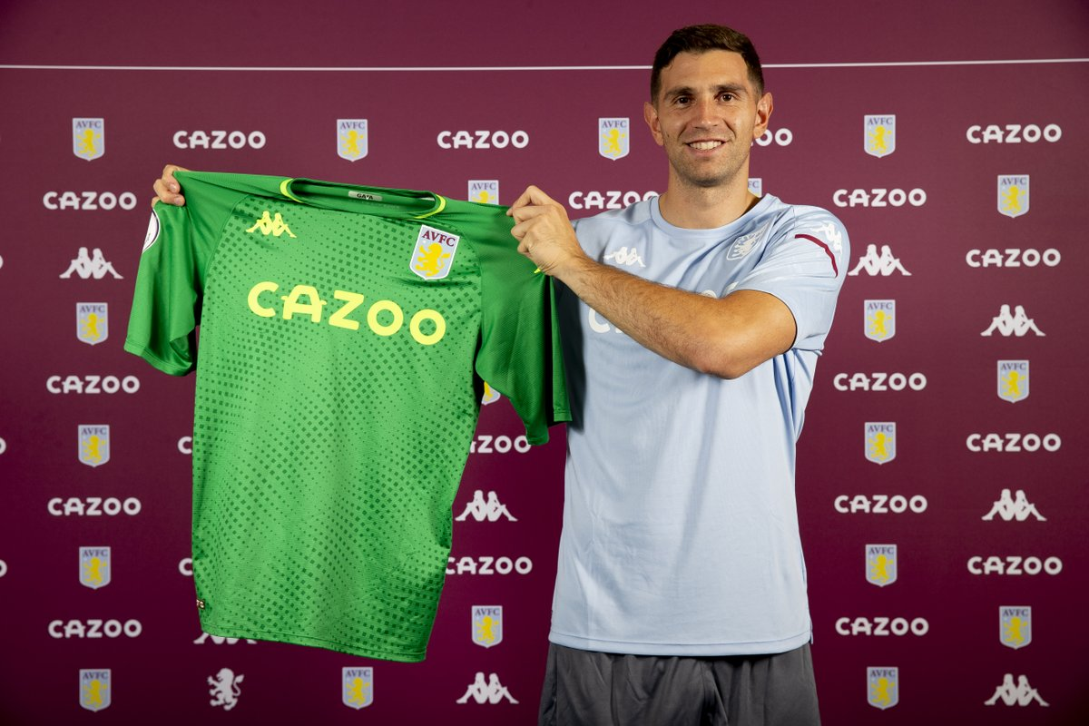 Aston Villa recrute Emiliano Martinez !