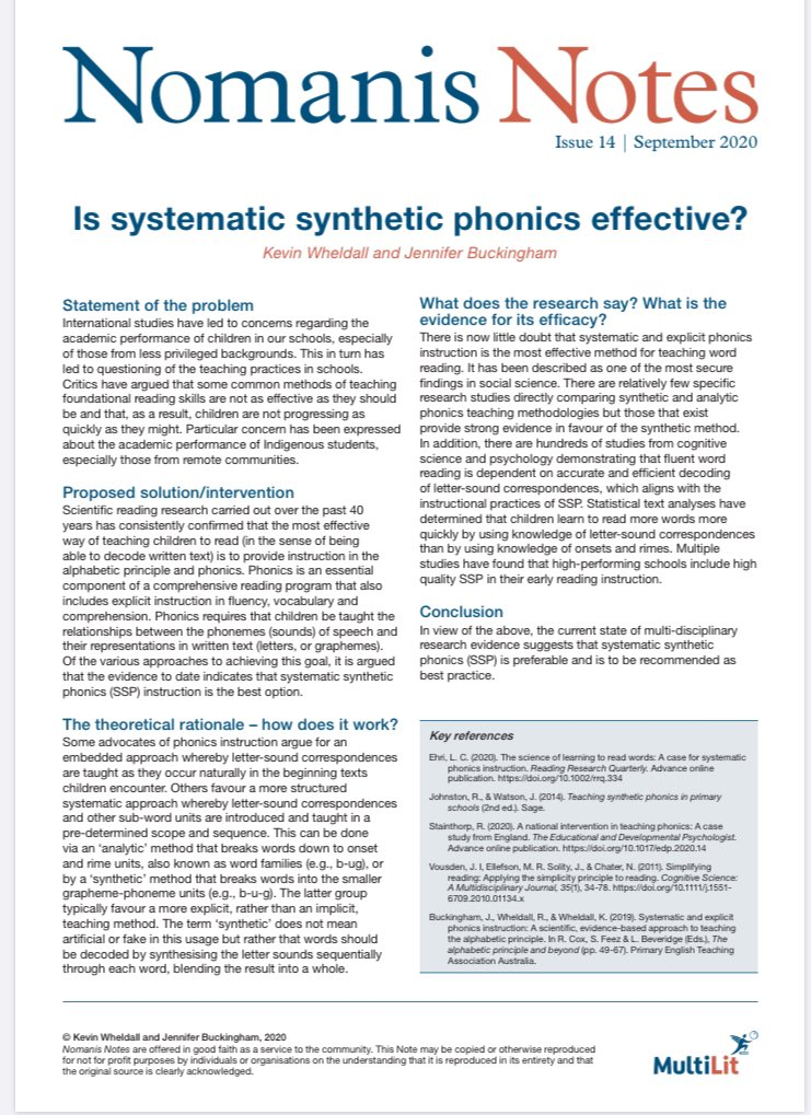 Is Systematic Synthetic Phonics effective? Read the new #Nomanis Note to find out. …0-4738-9d6e-3933f283bdb1.filesusr.com/ugd/81f204_f8c…