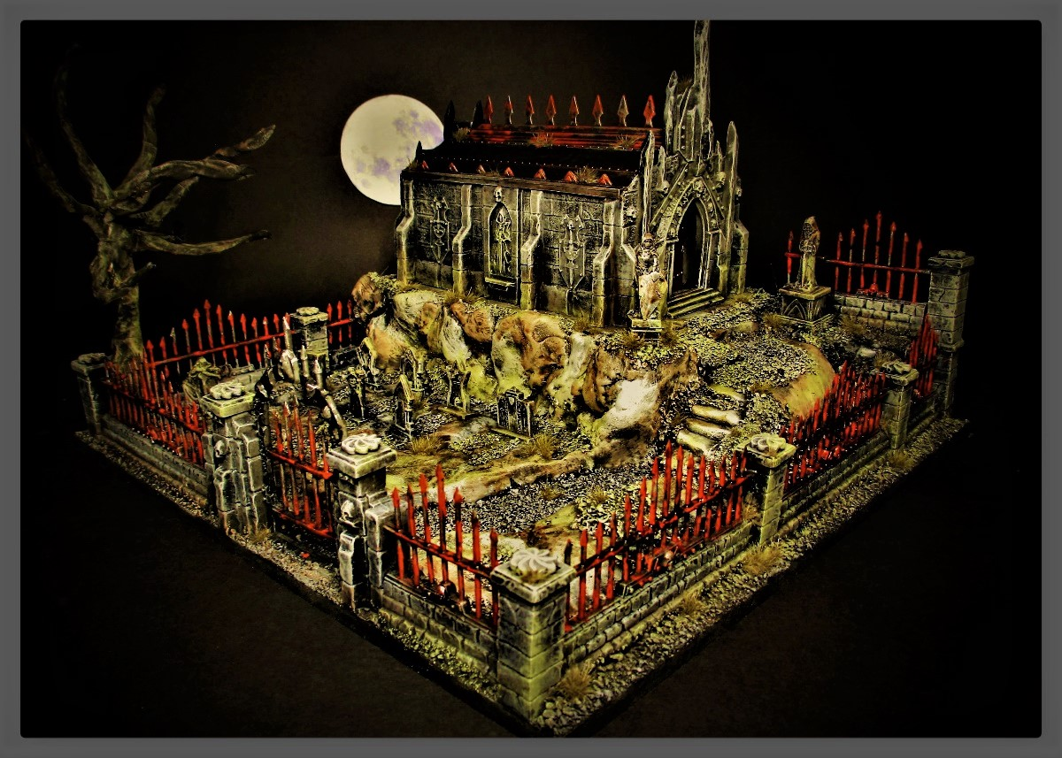 I posted my Crypt in the ReaperCon live showcase category I did not know prizes were getting handed out, #reapermini got in touch with me yesterday to tell me I won a gift certificate, how awesome are they. Thank you, Reaper 😍🧙♂️#DnD https://t.co/EF2XNfoeAl