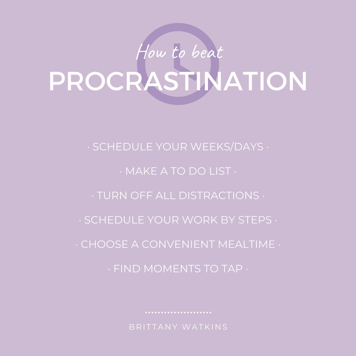 I know how easy it is to put things off with the intention of getting to them tomorrow or next week. But when tomorrow or next week comes and you find yourself wondering how you will get everything done, that's when you regret procrastinating. #procrastination #SelfCare #EFT https://t.co/b6Jy995tIG