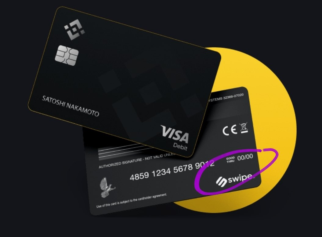 """🔥The more white label cards are emitted to other exchanges and companies the larger the $SXP network grows inducing more $SXP supply burn.  💎Look at it the same way you look at the """"VISA"""" logo on your branded local bank card.   🤑 $SXP is the real beneficiary @JLSwipe https://t.co/GPsAJiA10W https://t.co/ECFz3lzJ1X"""