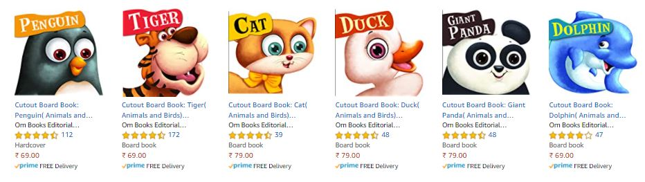 Our #cutout board books for kids are now part of amazon bestsellers list and available at a discount. Link - https://t.co/i51u9vXDp6  #kidsbooks #COVID19 #AmazonDeals #ombookshop https://t.co/JIQMZsFZ6X