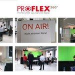 Image for the Tweet beginning: ProFlex360°: aus real wird digital!