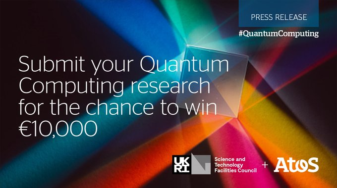 Atos and @HartreeCentre have launched the first UK Joseph Fourier Prize, offering...