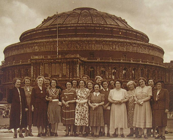 Happy birthday to the @WomensInstitute 🎂 Today marks 105 years of an incredible network for women in society. Were proud to have hosted so many WI events over the years, from mass meetings to royal visits #WIDay