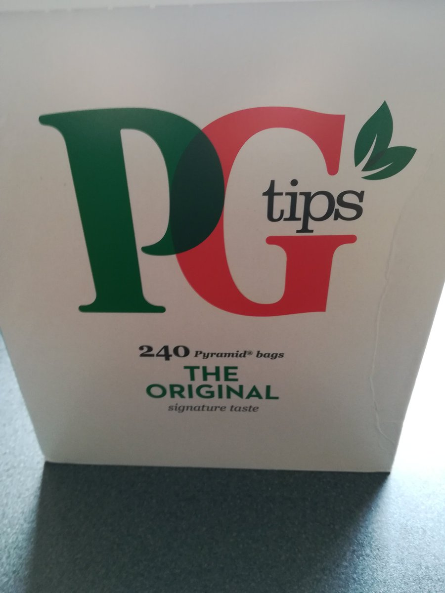 No more @YorkshireTea until the plastic goes from their tea bags. Hello @PGtips https://t.co/vwY9zTdYGG